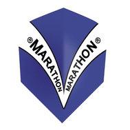 Harrows Marathon Blue V design