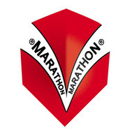 Harrows Marathon Red V design