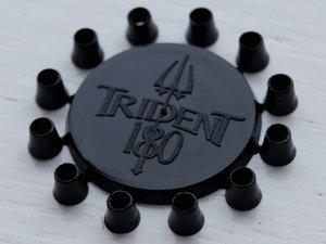 Trident 180 - Musta