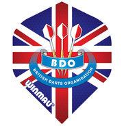 Winmau Mega Standard BDO Union Jack