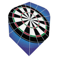 Harrows Quadro Dartboard Blue