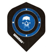 Winmau Mega Standard Skull in Blue Circle