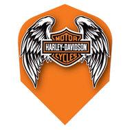 Harley Davidson Orange with Wings