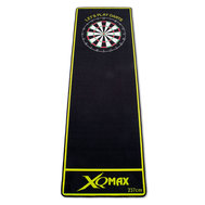XQ Max Darts Mat Soft Let´s Play Darts Black/Green