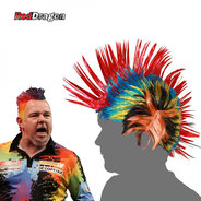 Red Dragon Peter Wright Snakebite Wig