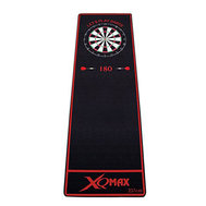 XQ Max Darts Mat Soft Let´s Play Darts Black/Red