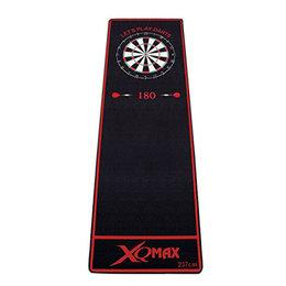 XQ Max Darts Mat Let´s Play Darts Black/Red
