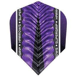 Harrows Supergrip X Purple NO6