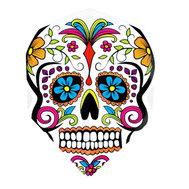 Harrows Quadro Graffiti Skull Flower