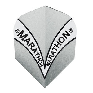 Harrows Marathon Silver V design