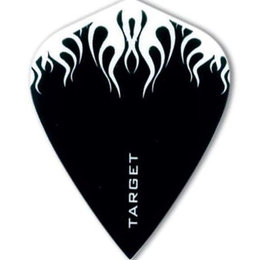 Target Pro Play Black/White Flame Kite