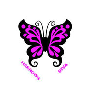 Harrows Diva Butterfly