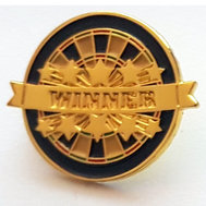 Dartboard Winner Pins