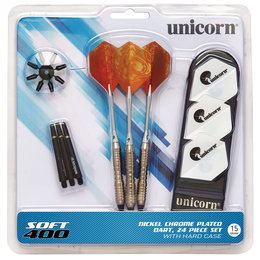 Unicorn SOFTTIP 400 Nickel Chrome Plated 17g