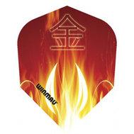 Winmau Mega Standard Oriental Flames