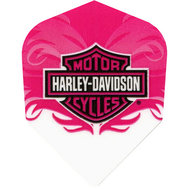 Harley Davidson Whitepink with shield
