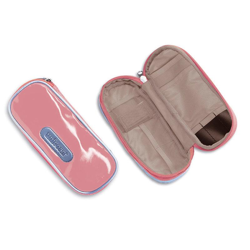 Unicorn Compact Soft Pink/Grey Darts Wallet