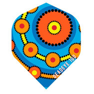 Deadeye Aboriginal Blue Field