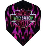 Harley Davidson Pink flames