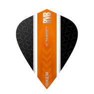 Target RVB Vision Ultra Black/Orange Stripe Kite