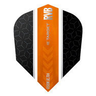 Target RVB Vision Ultra Black/Orange Stripe NO6