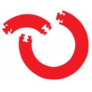 Bulls Jigsaw Surround Red