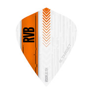 Target RVB Vision Ultra White / Orange Kite