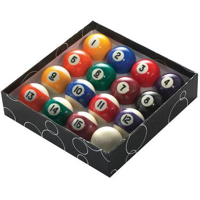 """2"""" (51MM) POOL BALLS (STRIPES) - STD"""
