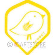 Pro 100 Keltainen Lintu Suunnittelu